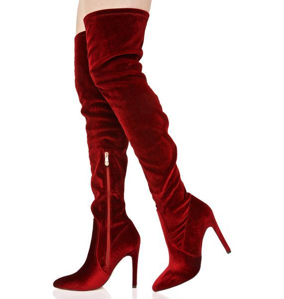 Arabella Thigh-High Boots