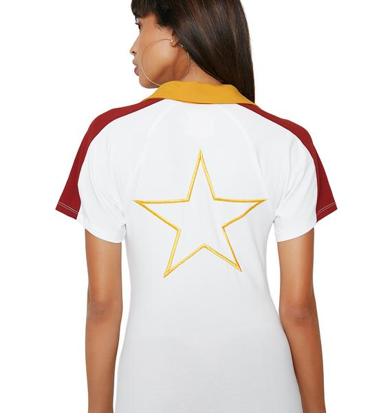Camp Collection Gold Star Bodysuit