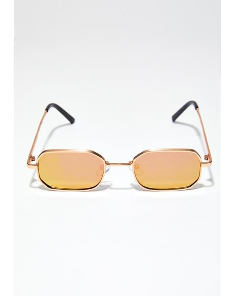 Golden Half Baked Sunglasses