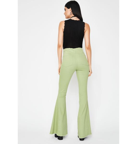 Dank Hippie Chic Bell Bottoms