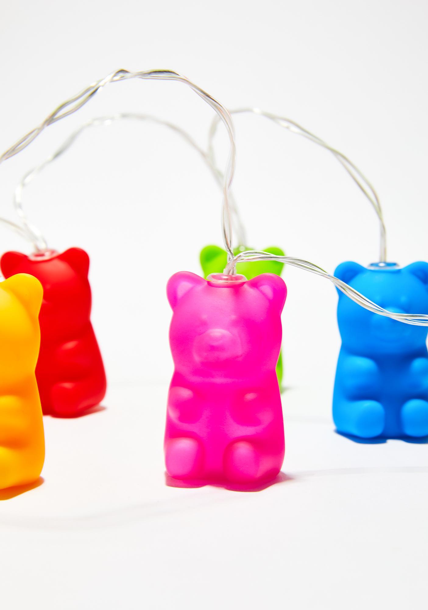Picture of: Delia S Rainbow Gummy Bear String Lights Dolls Kill
