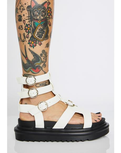 Up For It Gladiator Sandals
