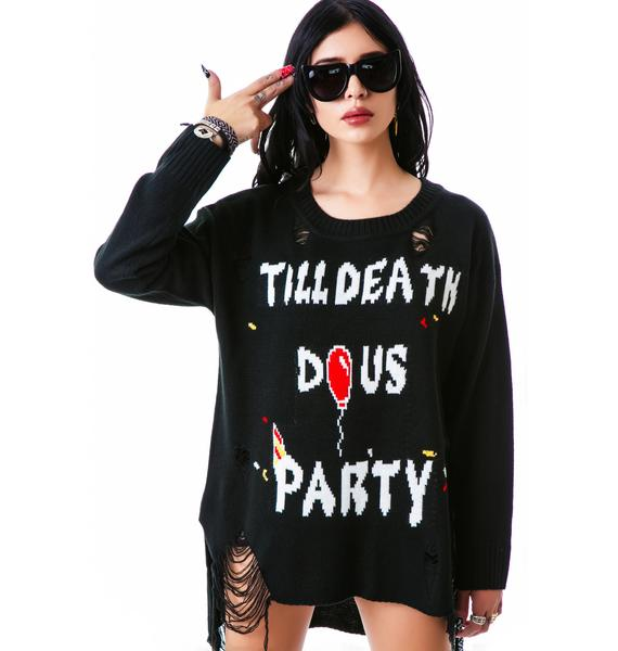 UNIF Till Death Sweater