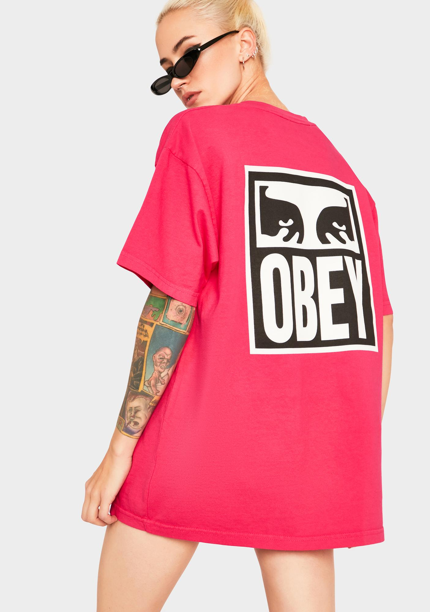 Obey Eyes Icons II Heavyweight Graphic Tee