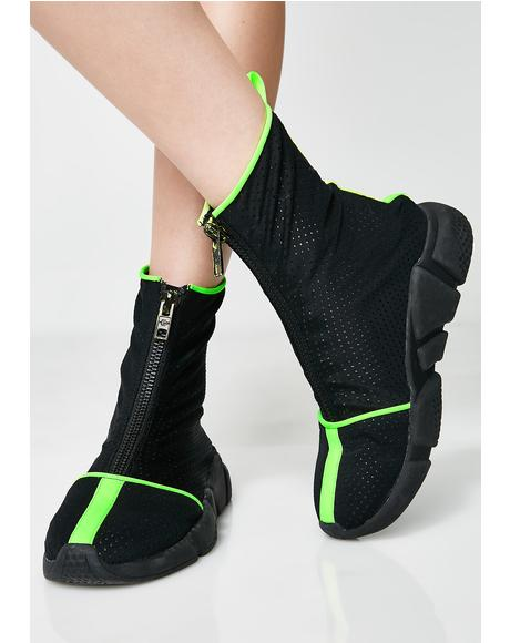 Rave Ninja Beach Booties