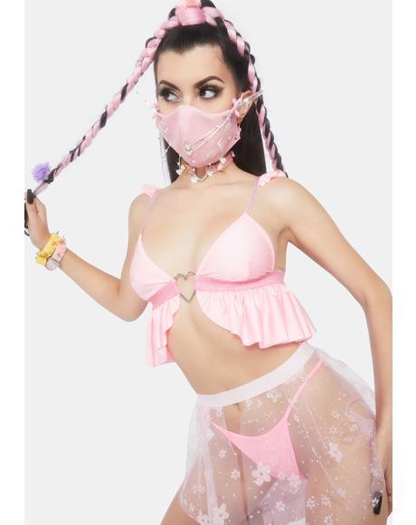 Pink Lusty Bra Top
