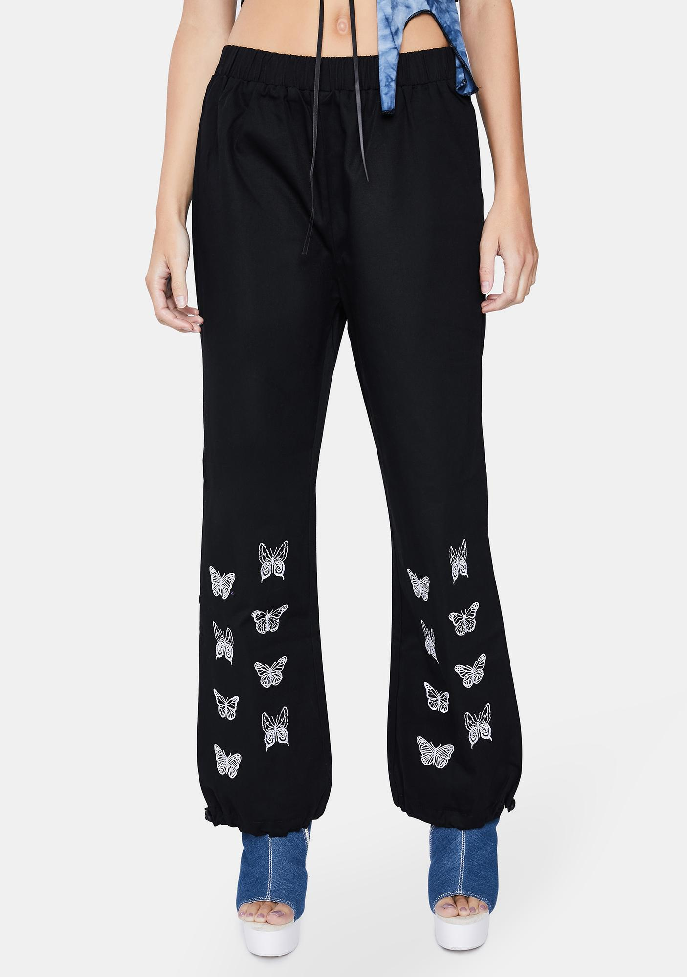 ZEMETA Butterfly Jogger Sweatpants