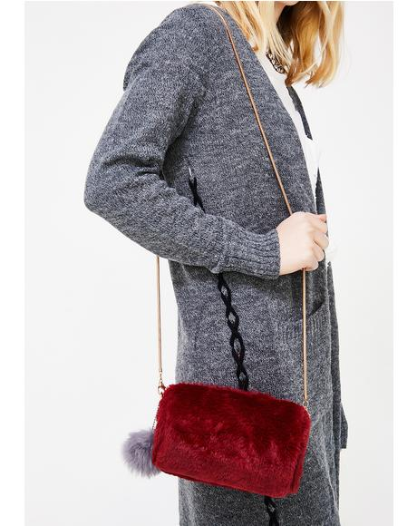 I Get The Bag Faux Fur Purse