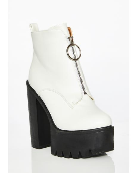 Pure Freestyle Platforms Boots