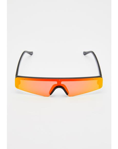 On Deck Reflective Sunglasses