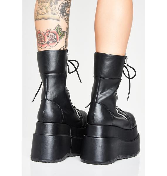 Demonia Vampyro Platform Boots