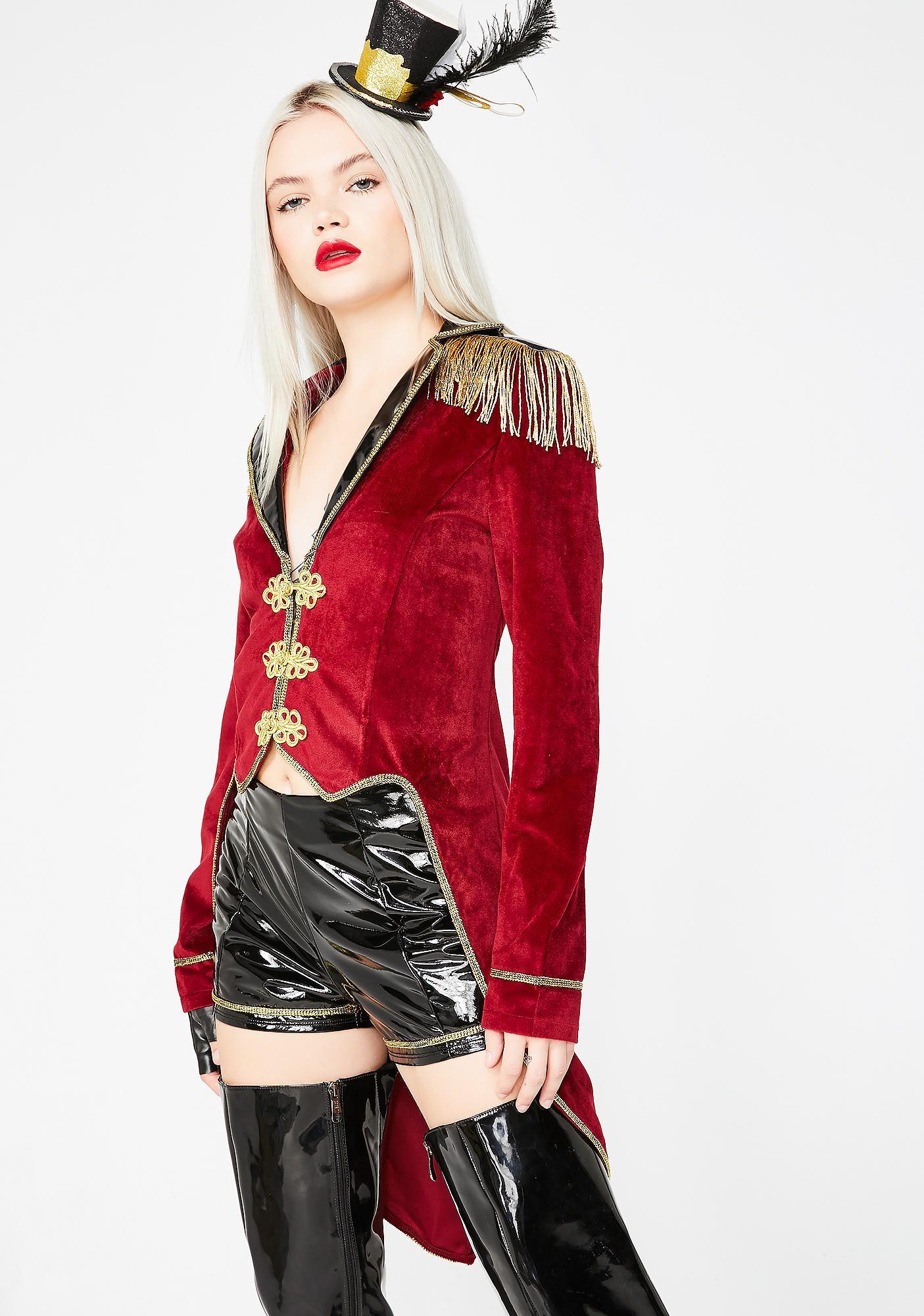 Dolls Kill Freaky Circus Ring Mistress Costume