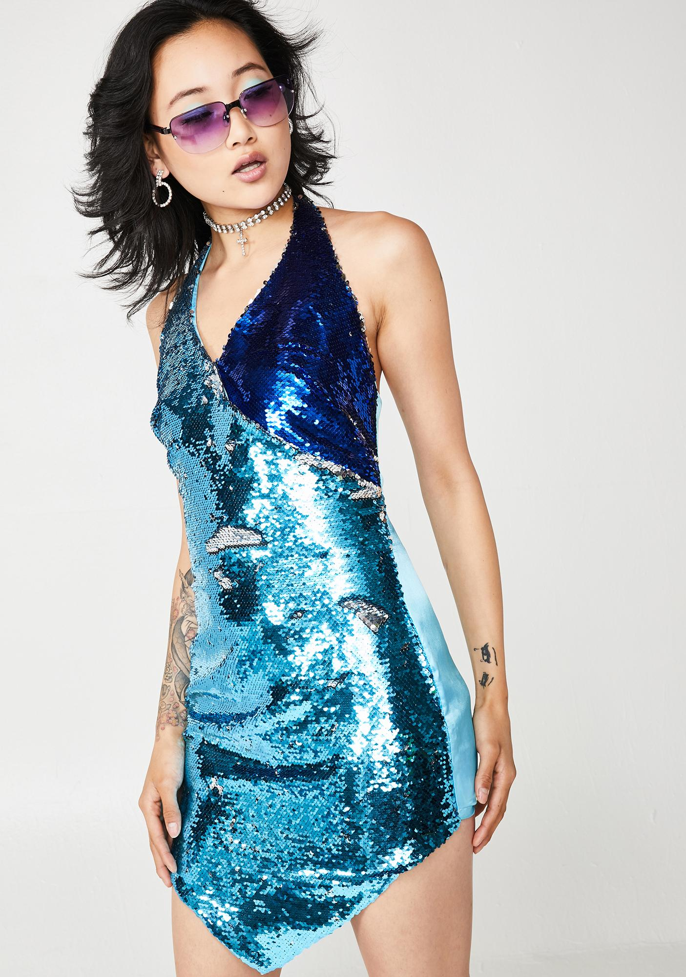 O'Dolly Dearest Stargazer Sequin Dress