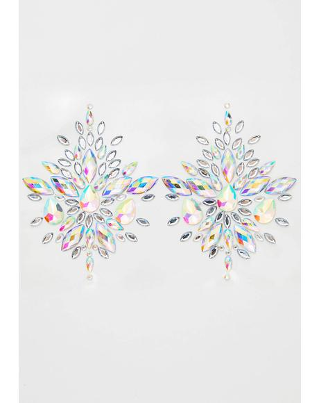 Frozen Crystal Jewel Nipztix Pasties