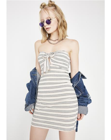 Do It On Ur Own Striped Dress