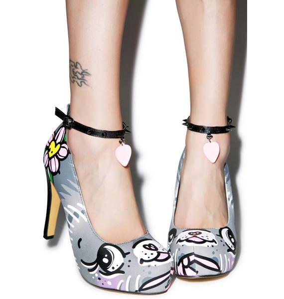 Iron Fist Pussycat Pussycat Platform Heels