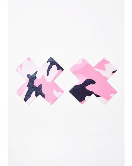 Pink Camo Pasties
