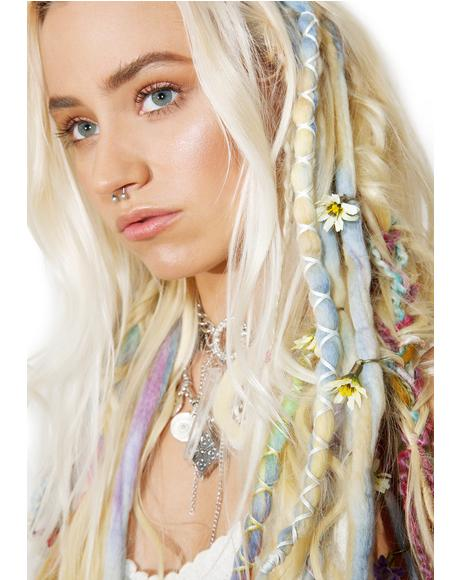 Cornflower Dreadlock Set