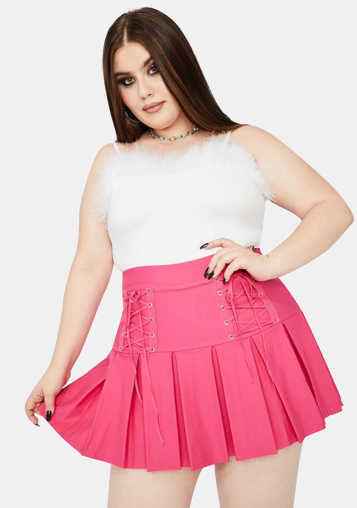 Miss Candy Modern School Girl Pleated Skirt