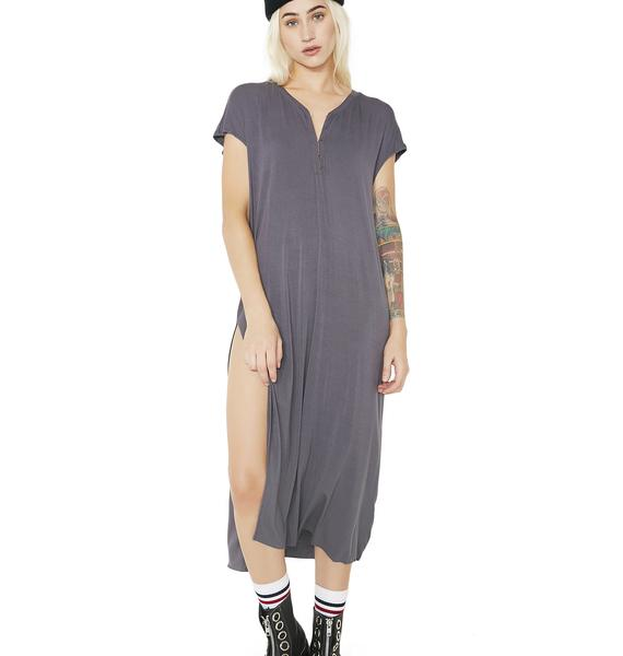 Graveyard Shift Tee Dress