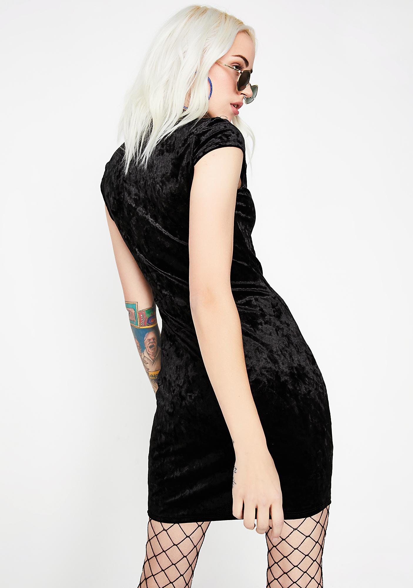 True Rebel Velvet Dress