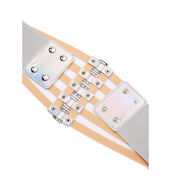 Trixter Holographic Waist Belt