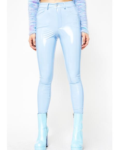 Sky Legally Flawless Vinyl Pants