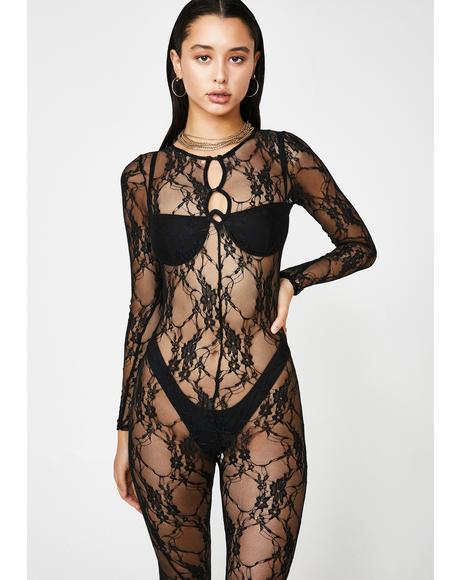 Fully Yours Lace Catsuit