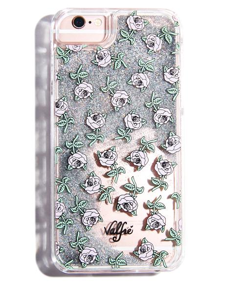 Rose Glitter iPhone Case