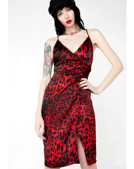 Primal Posh Leopard Dress