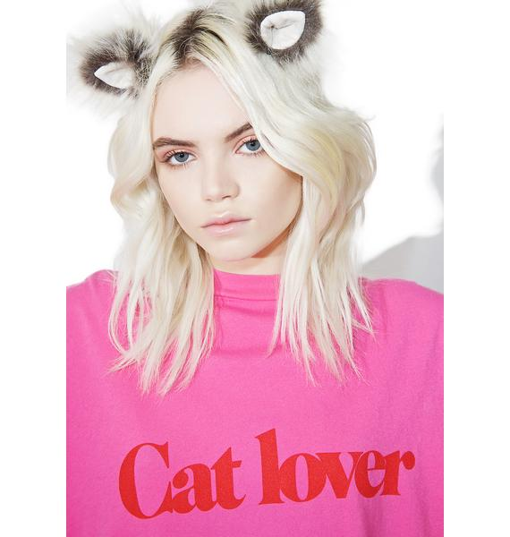 Daydream Nation Cat Lover Tee