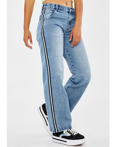 90's Fever Wide Leg Jeans