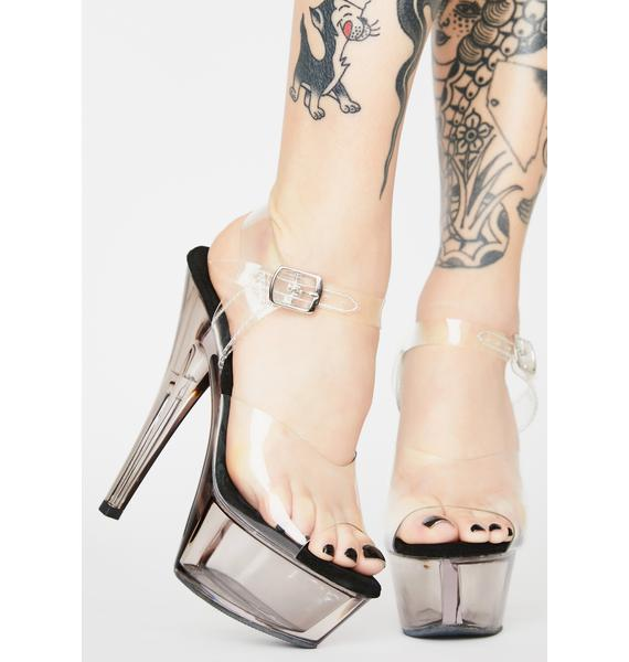 Pleaser Chic Stunna Platform Heels