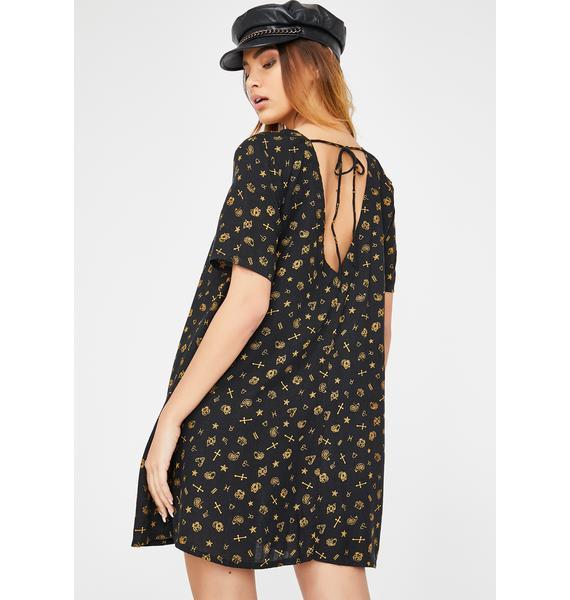 Motel Mini Astro Crosena Dress