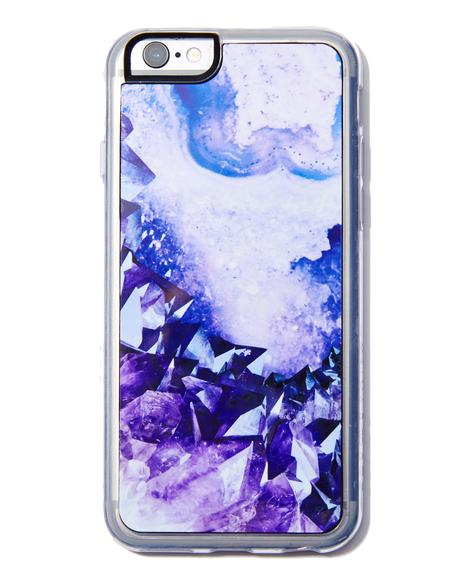 Healer Crystal iPhone Case