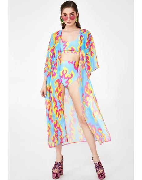 Flame Kimono