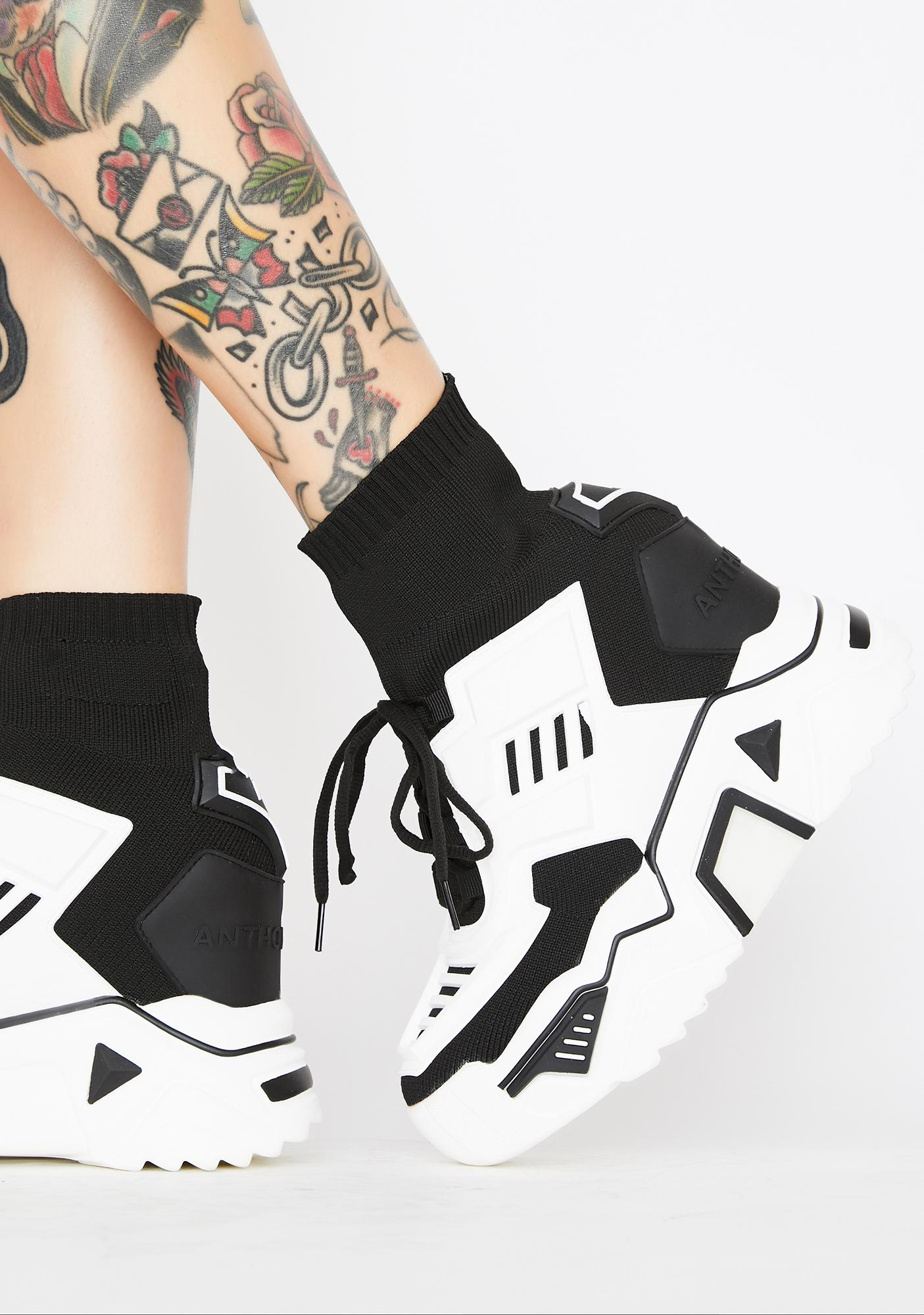 Anthony Wang Guilty Pleasures Platform Sneakers