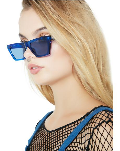 Cobalt Beam Me Up Sunglasses