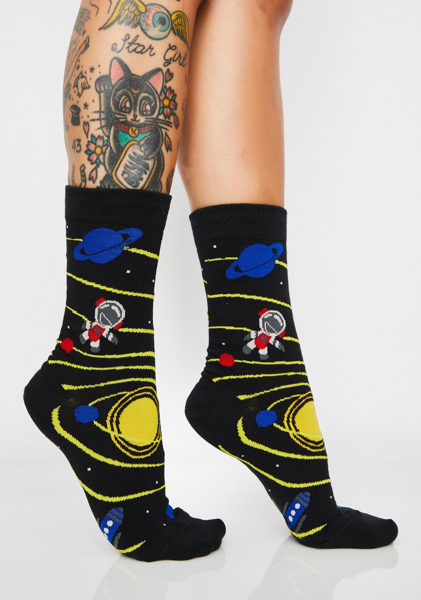 Lost In The Galaxy Socks