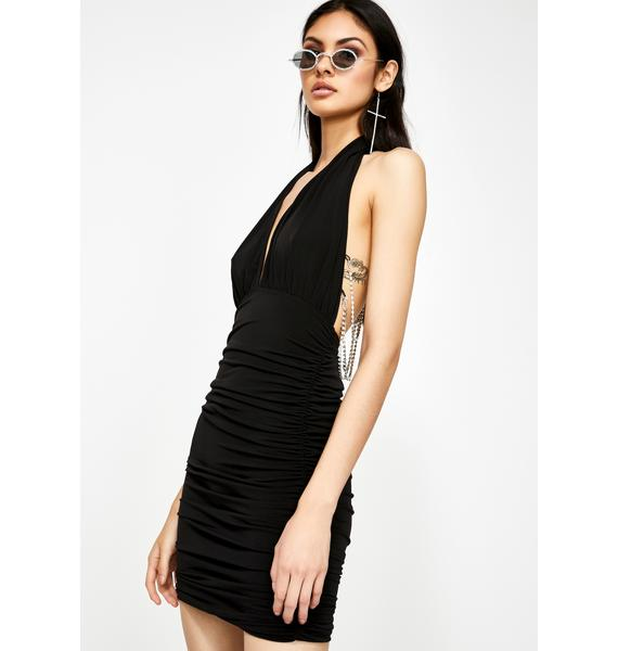 Kiki Riki Bad News Baddie Chain Dress