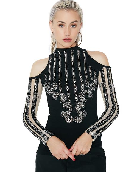 High Maintenance Embellished Top
