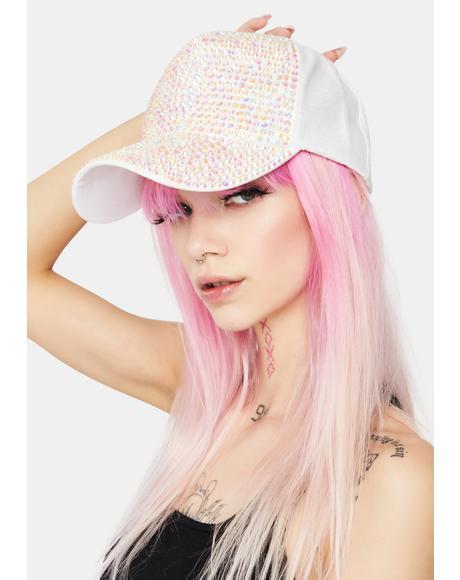Glam Squad Rhinestone Baseball Hat