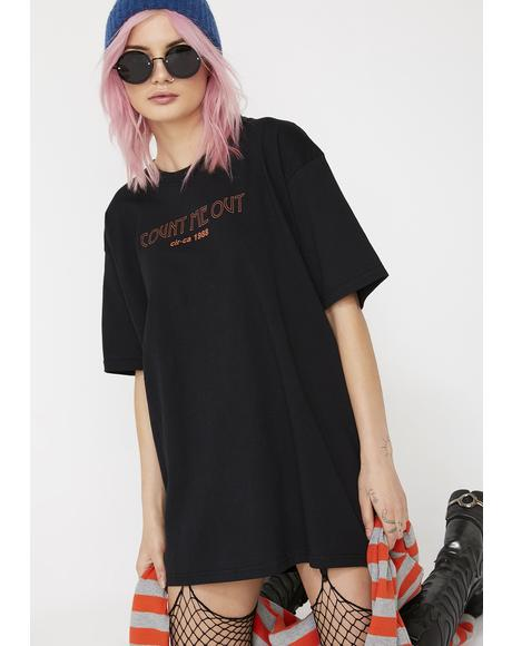 The Count Me Out Tee