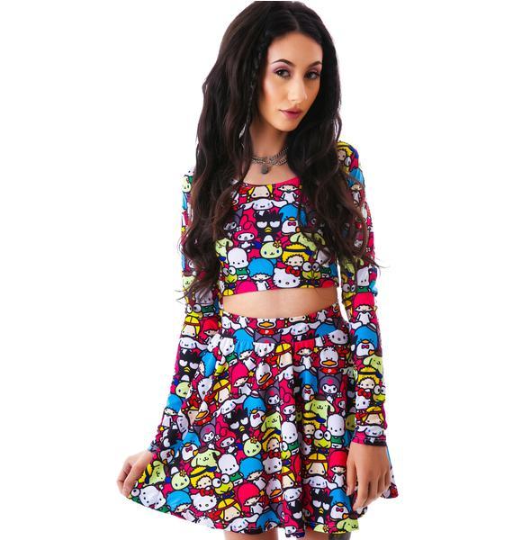 Japan L.A. Japan L.A. x Sanrio Friends Circle Skirt