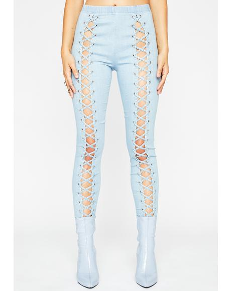 Verified Fatal Nancy Corset Leggings
