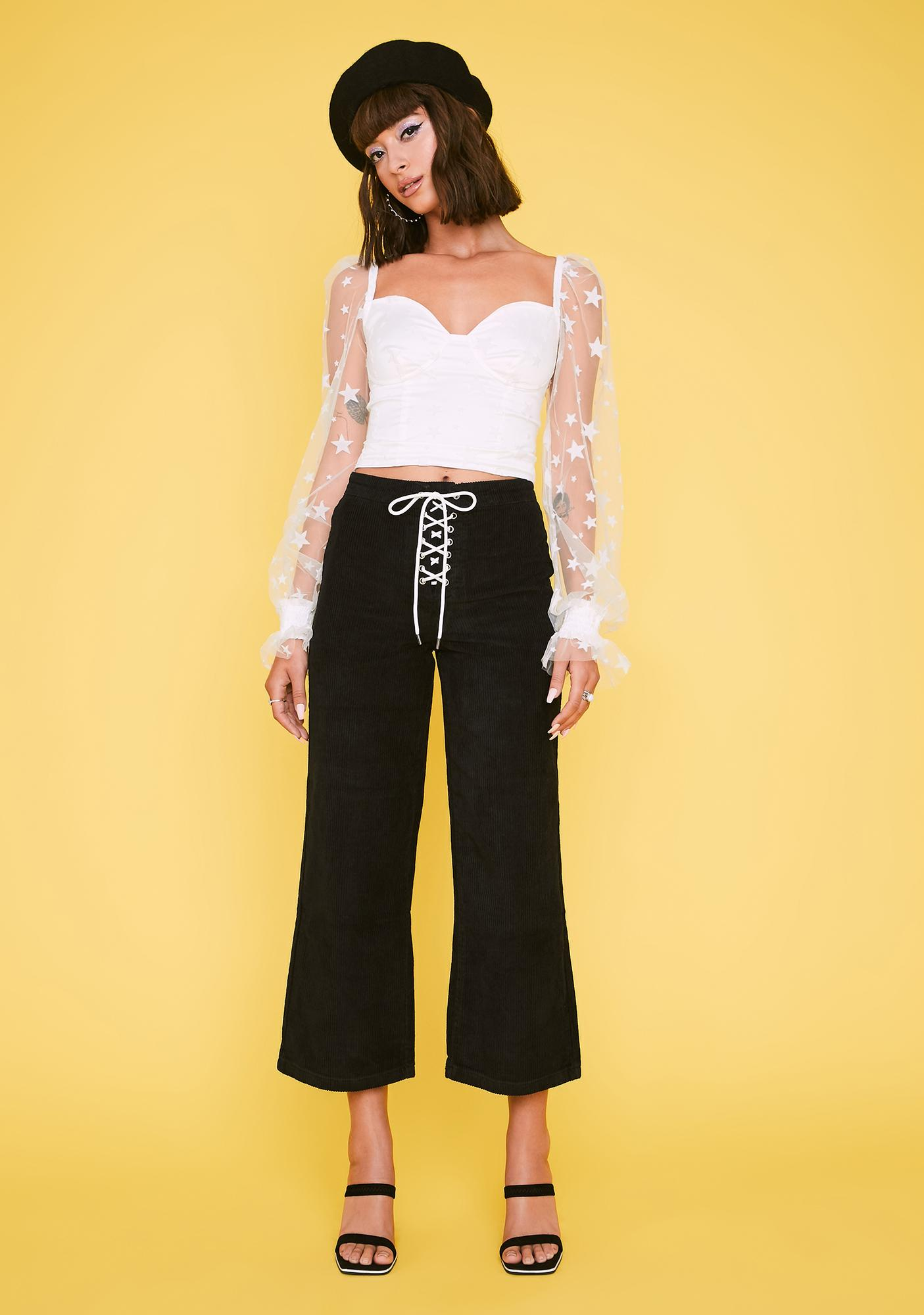 HOROSCOPEZ Always Loyal Flare Pants