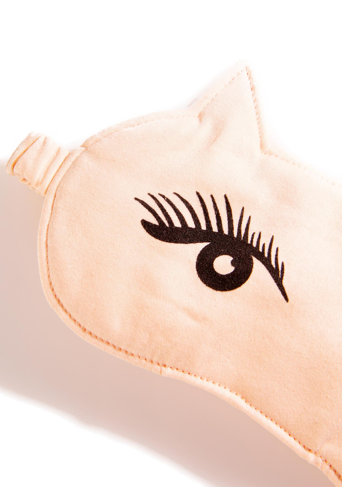 Wildfox Couture Kitten Nap Eye Mask