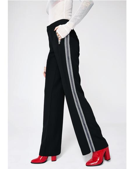 Too Far Gone Stripe Pants