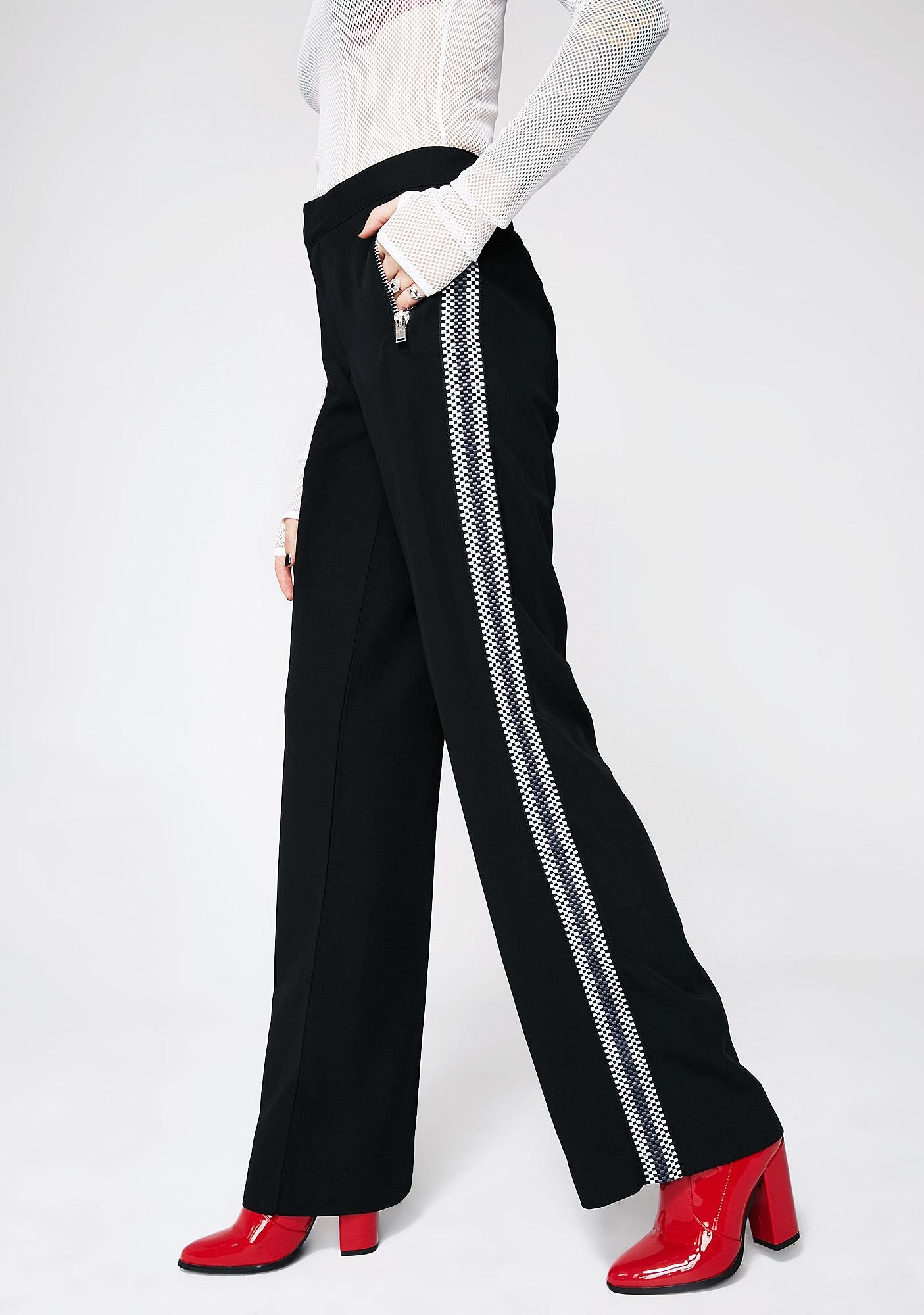 Current Mood Too Far Gone Stripe Pants