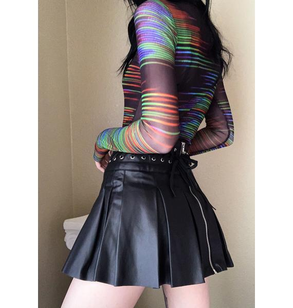 Current Mood Seeking Revenge Mini Skirt